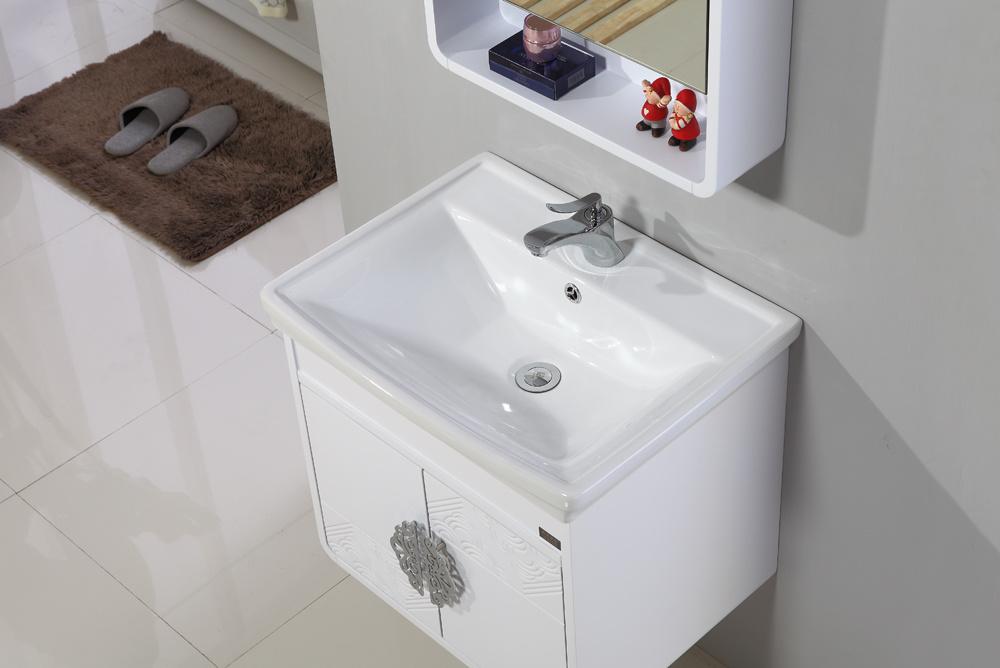 Sanitary Ware MDF Bathroom Cabinet Vanity with Wash Basin