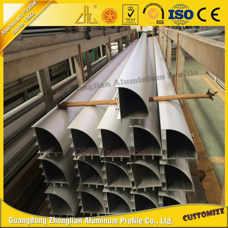 High Quality Customized Aluminium Tube Corner Aluminum Pipe