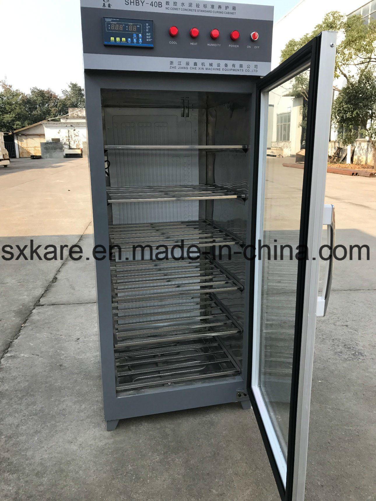 Nc Cement Concrete Standard Curing Cabinet (SHBY-40B)