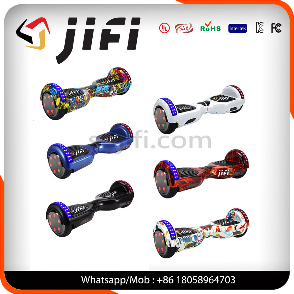 "6.5"" Two Wheel Self Balancing Hoverboard Electric Scooter with Ce/RoHS/FCC/MSDS Cerficates"