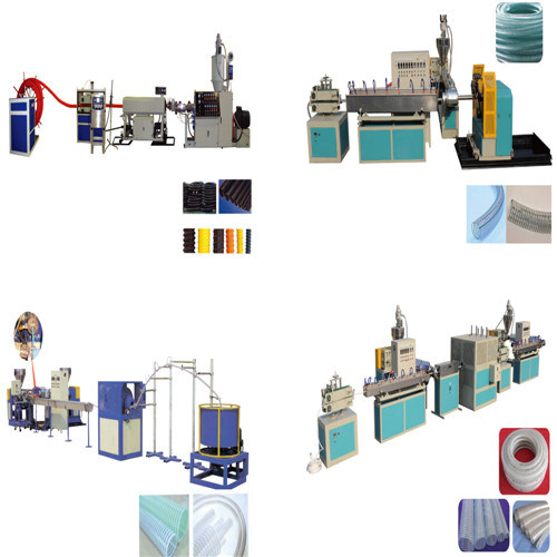 PVC Steel Wire Reinforced Hose Production Line