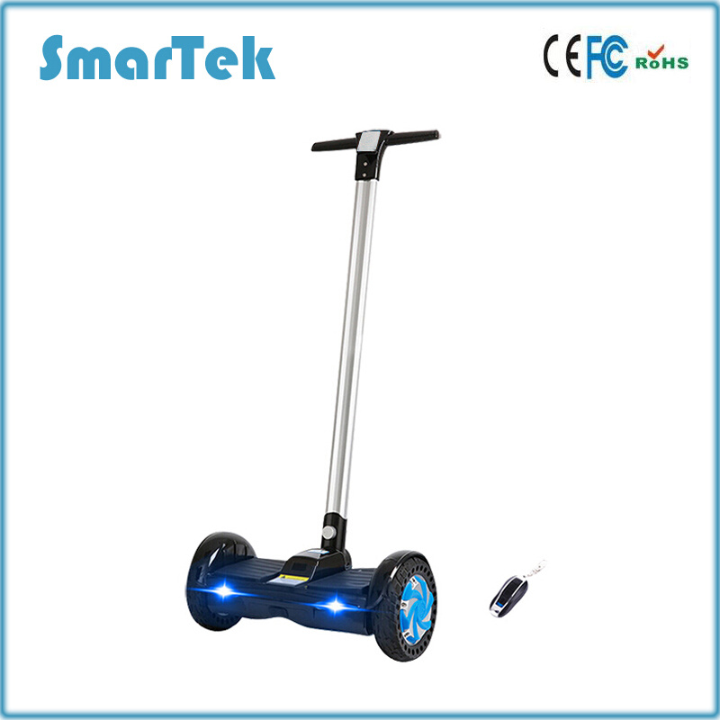 """Smartek 8"""" Handle Cool and Safe Unfoldable Unicycle Mini Two Wheel Electric Standing L Balanced Hoverboard Scooter Patinete Electrico S-011"""