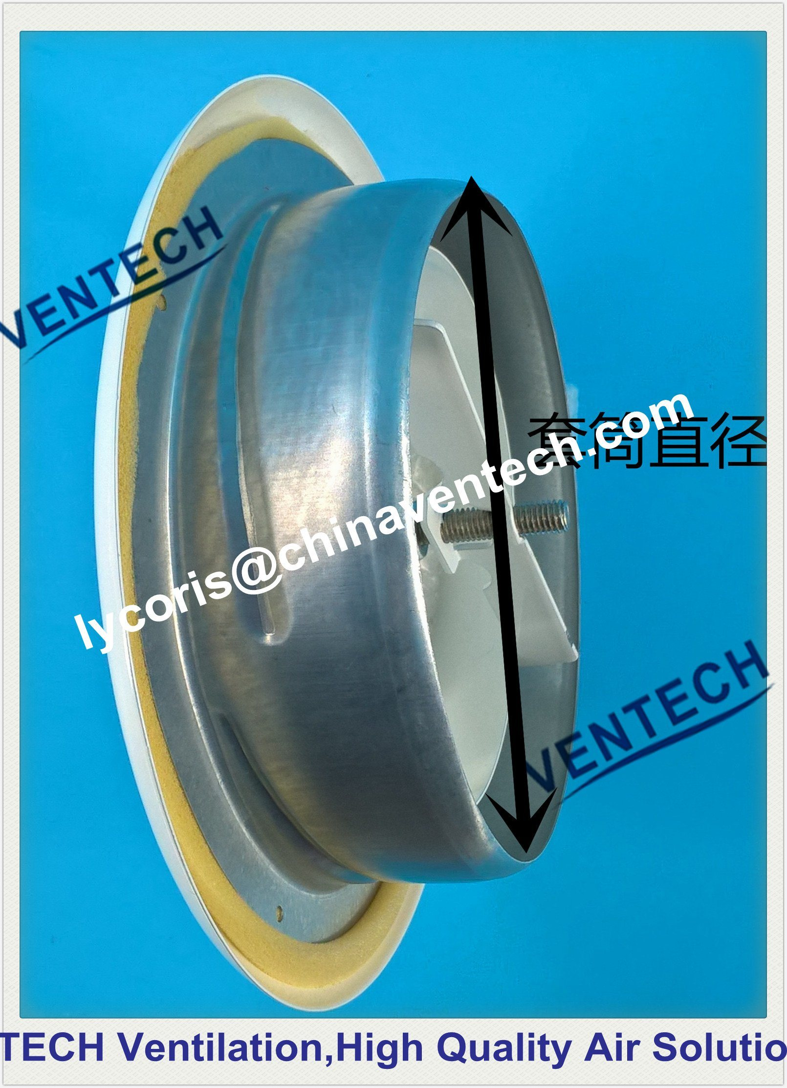 Metal Air Valve Exhaust Disc Air Valve Air Diffuser
