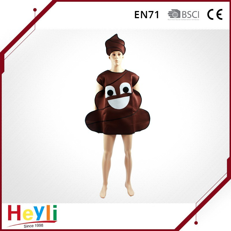 New Design Cartoon Funny Shit Cosplay Costumes