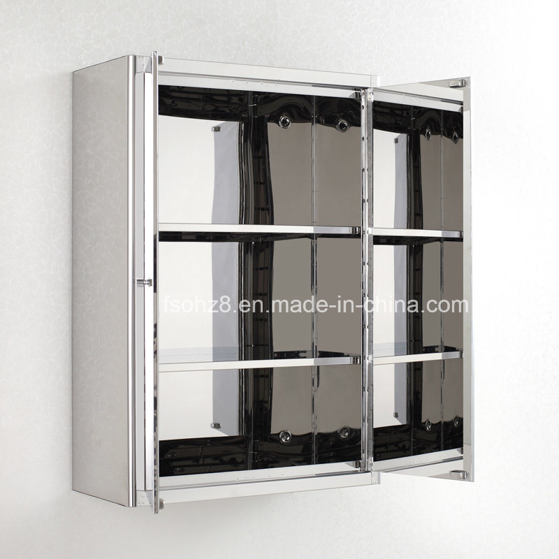 Wide Spread Stainless Steel Bathroom Mirror Cabinet Home Furniture 7098