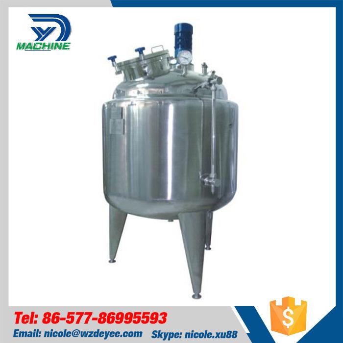 Sanitary Stainless Steel Mixing Pressure Tank Vessel