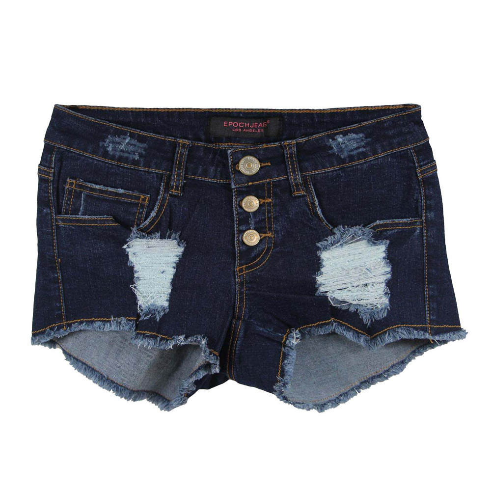 Girl Popular & Nice Wahing Wholesale Short Denim (MYX35)