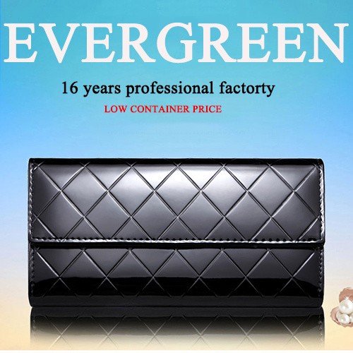 2017 Hot Design Leather Women Purses and Handbag Wallets Brand Name Clutch Bag (EMG4134)