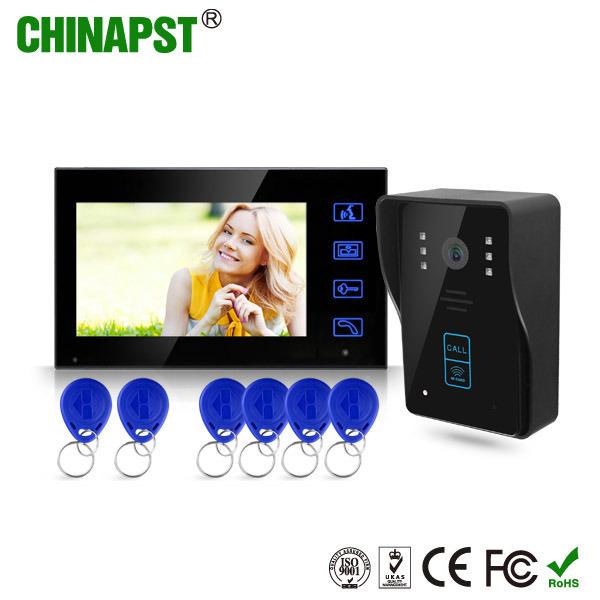Waterproof RFID ID Card Intercom Villa Video Doorphone (PST-VD704T-ID)