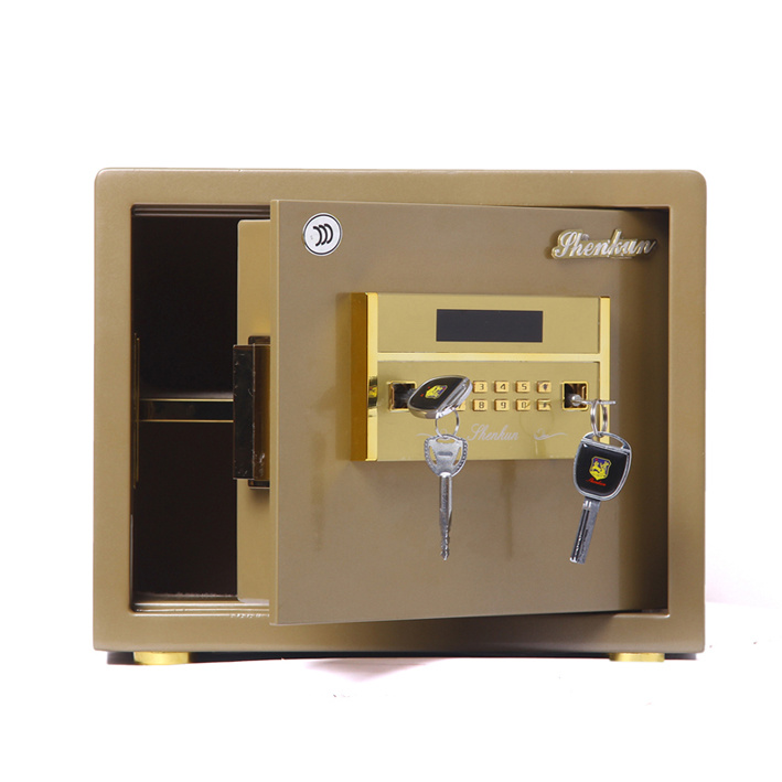 Security Home Safe Box with Digital Lock-Champagne Gold Seriers Fdx a/D 30y