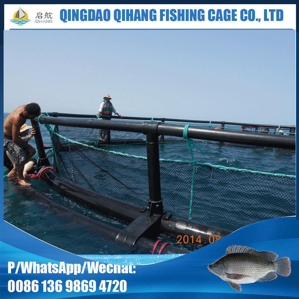 Aquaculture Fish Farming Cage with PE Nylon Net