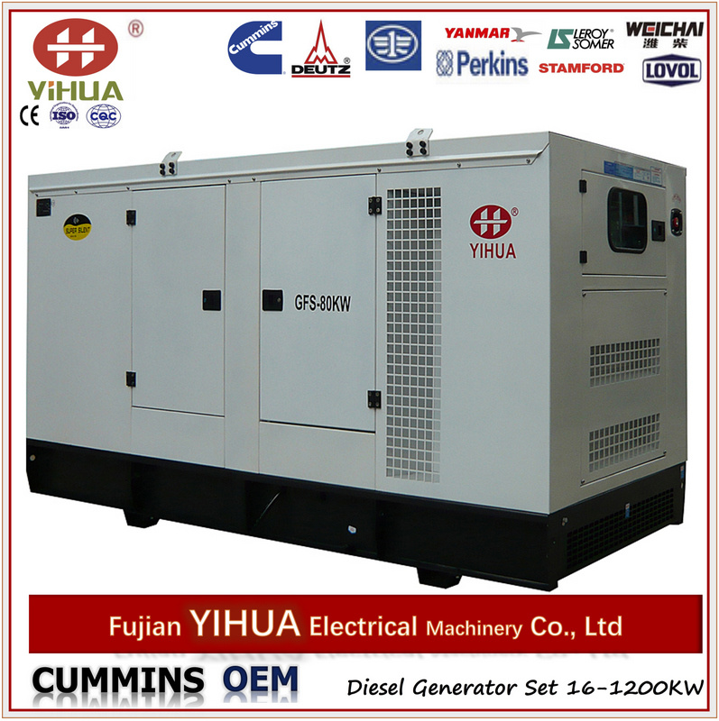 Best Seller! ! ! 20kw to 200kw Power Generator with Cummins Engins