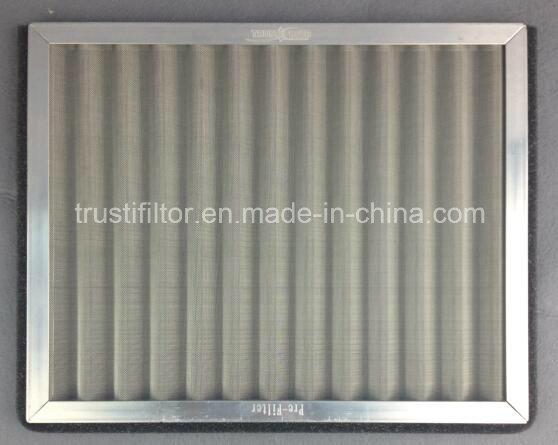 Panel Metal Mesh Pre Filter--Stainless Steel