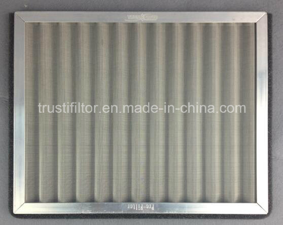 Panel Metal Mesh Stainless Steel Pre Filter