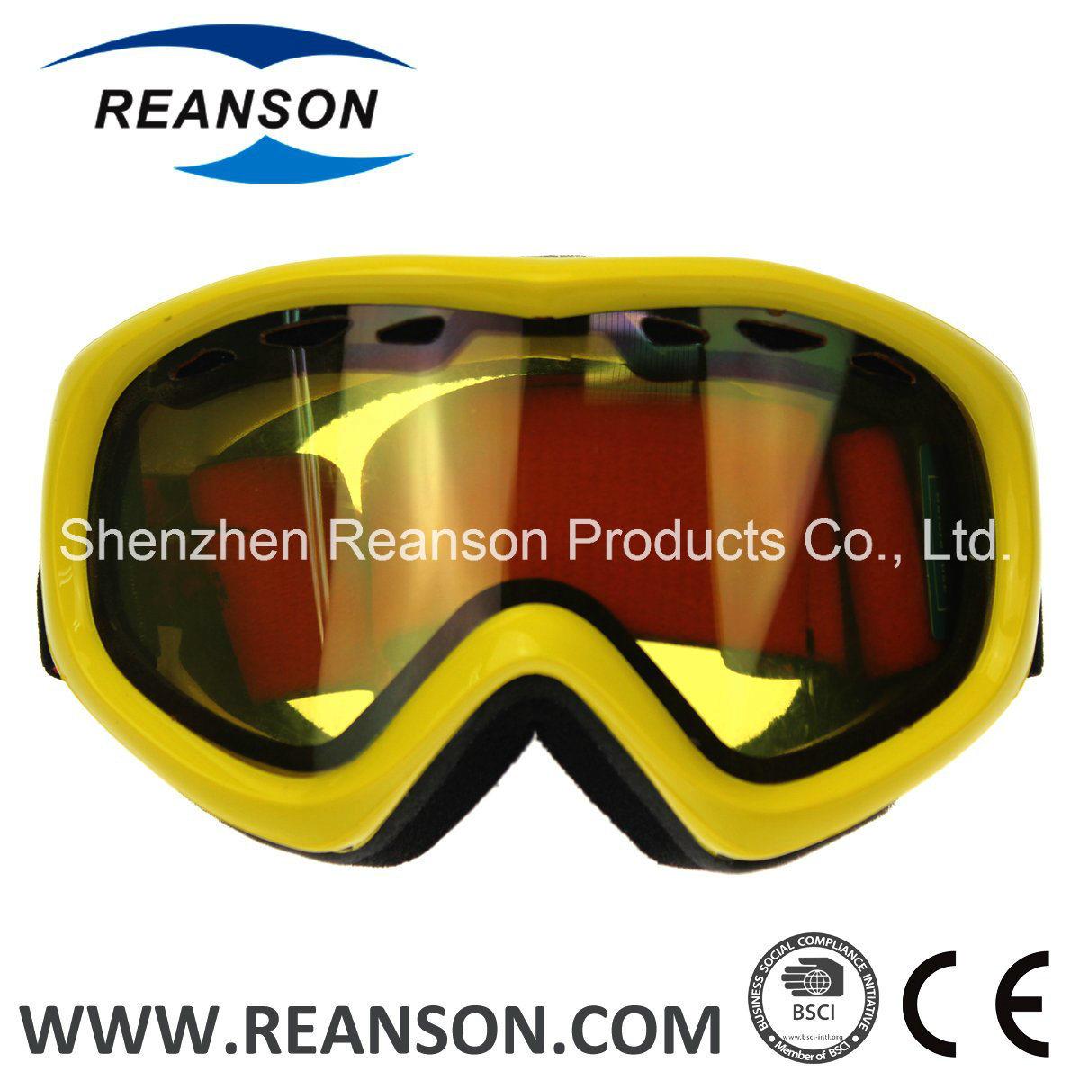 Reanson Professional OTG Anti-Fog Snow Mobile Goggles