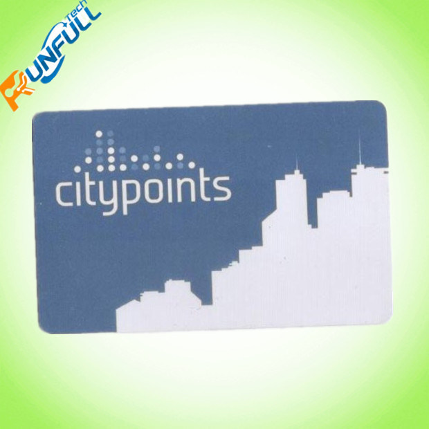 Cmyk 4/4 Colors Printing 0.76mm Plastic PVC Card