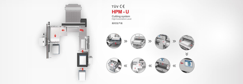 Hpm-L Cutting System (stack lift, Jogger, unloader)