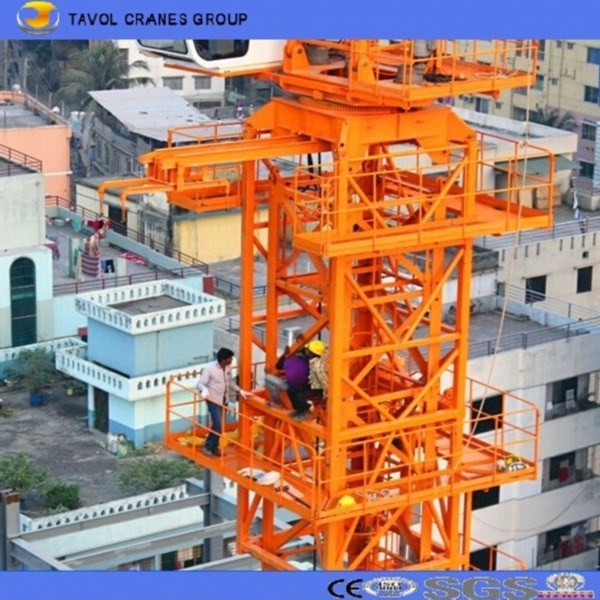 7055 Construction Equipment Tower Crane 70m Jib Length Tower Crane