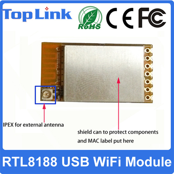 Top-M5 150Mbps Realtek Rtl8188 USB Embedded Wireless WiFi Module for Set Top Box
