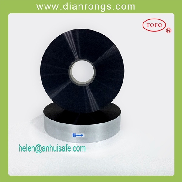 Single Sided Margin Metalized PP Film for Capacitor Use