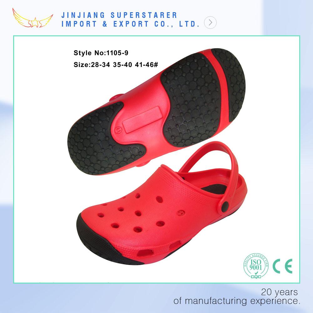 Breathable Anti-Slip EVA Garden Clog Sandals for All Seasons