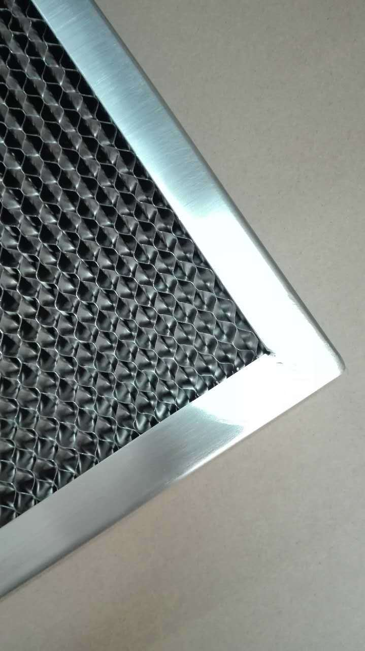 Stainless Steel Commercial Honeycomb Grease Filter Kitchen Exhaust Filter