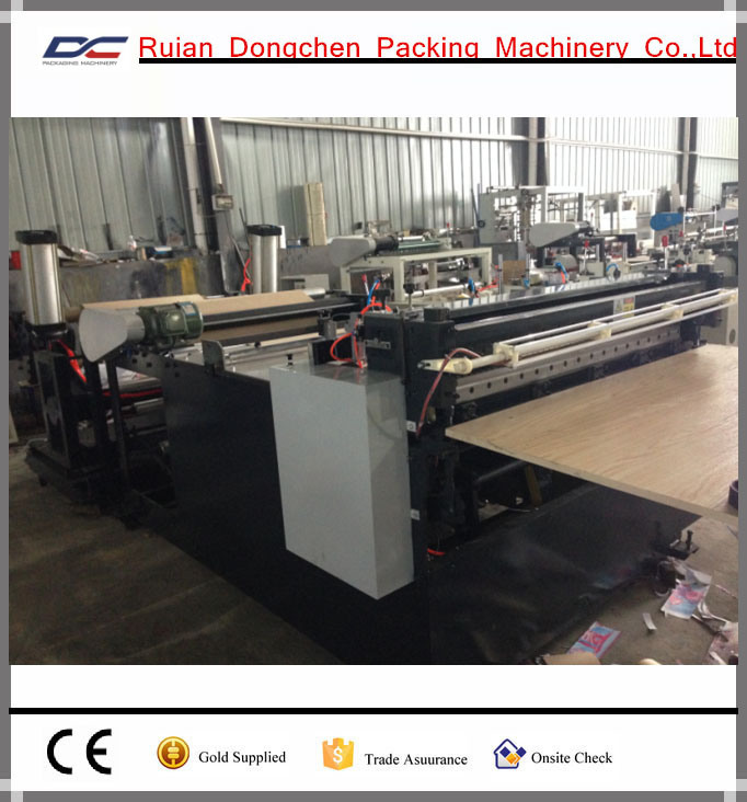 Automatic Paper Roll Cutting and Slitting Machine for 20-400g (DC-H1200)