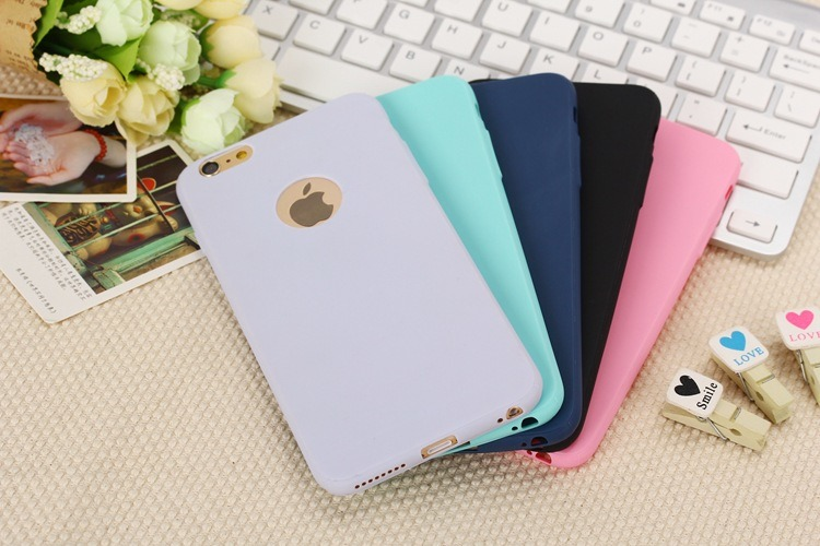 Matte Soft High Quality Fresh Cell Phone Case for iPhone 6/6s/6 Plus