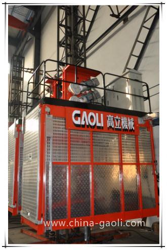 Gaoli Ce & GOST Approved Vertical Transportation Construction Hoist Sc100/100