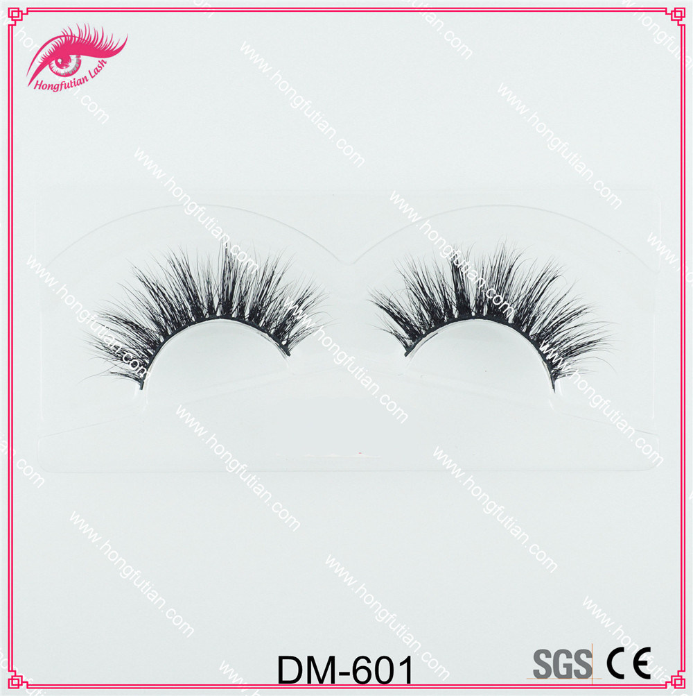 3D Mink Fur Eyelash with Eyelash Packaging Box