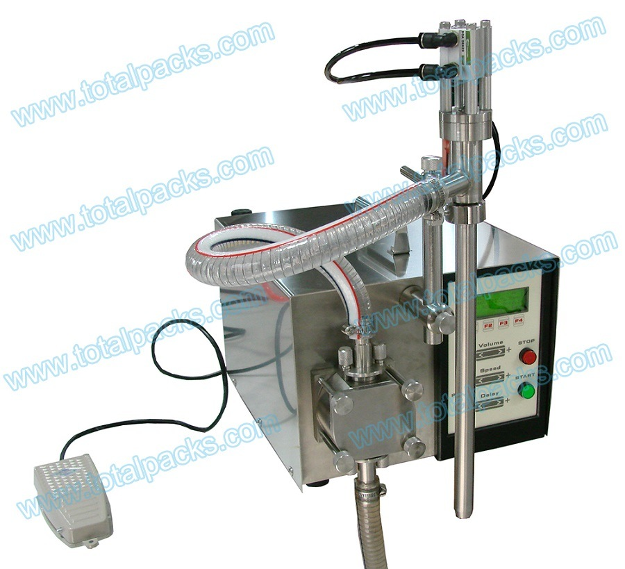 Semi-Automatic Gear Pump Bottle Filling Machine (GPF-150S)