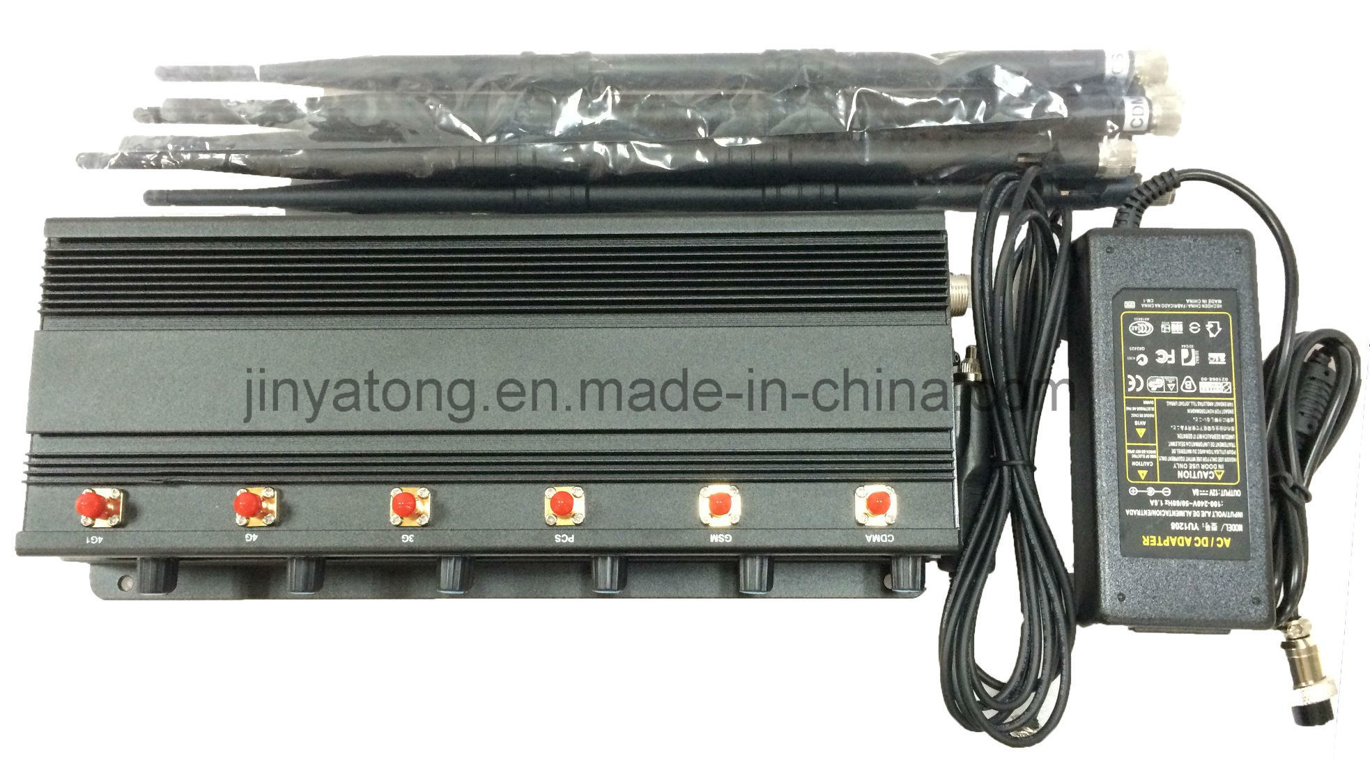 Adjustable 15W 6 Bands Police Use Wireless Signal Jammer