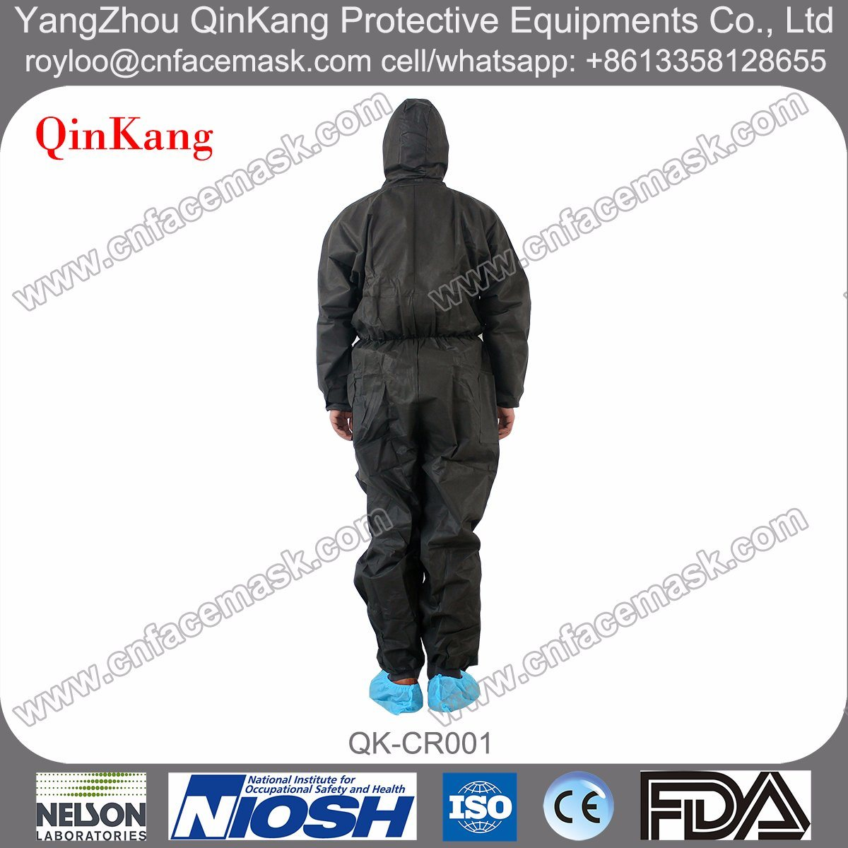 Non-Woven Factory Protective Working Clothes/Coverall