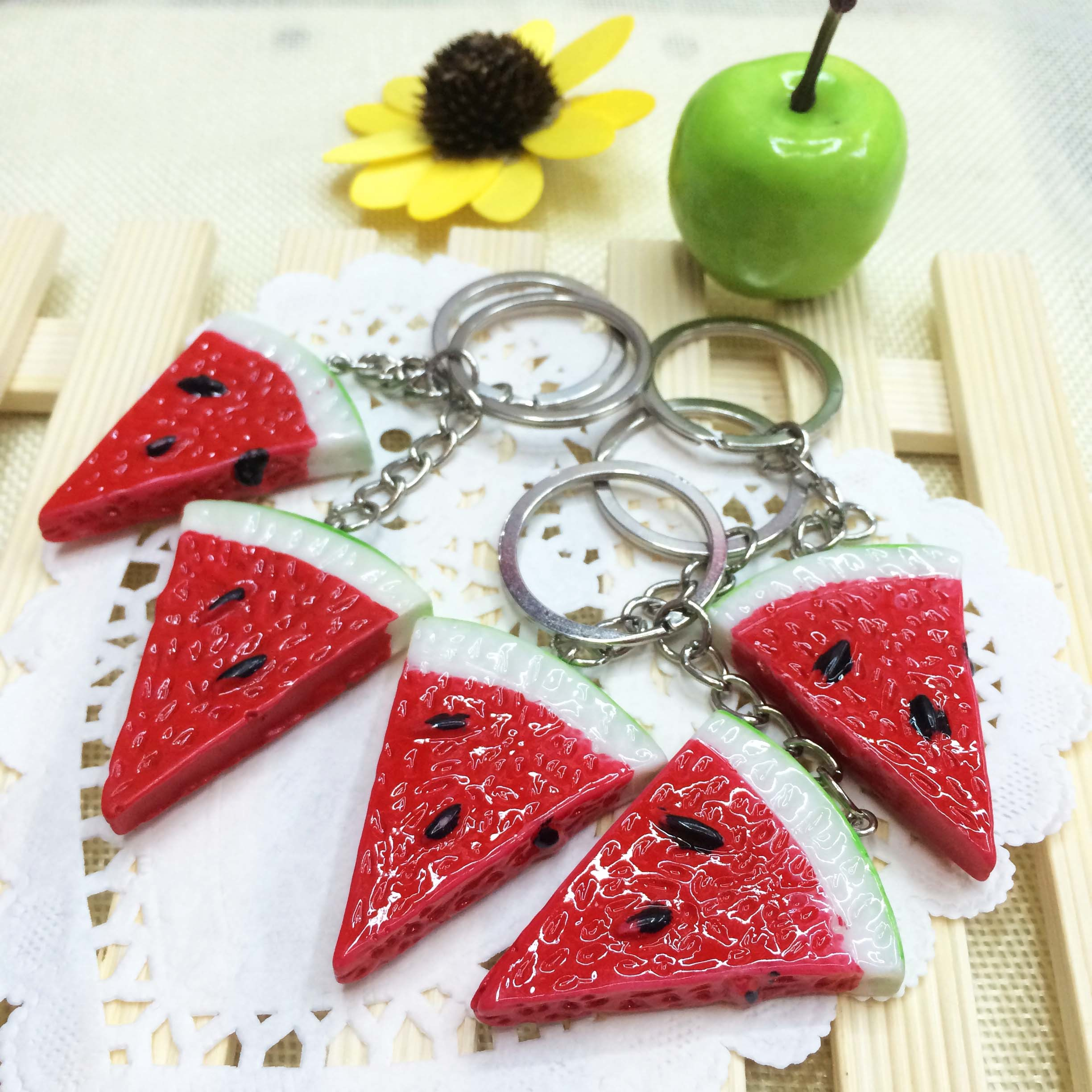 Promotional Gift Custom Resin Key Ring