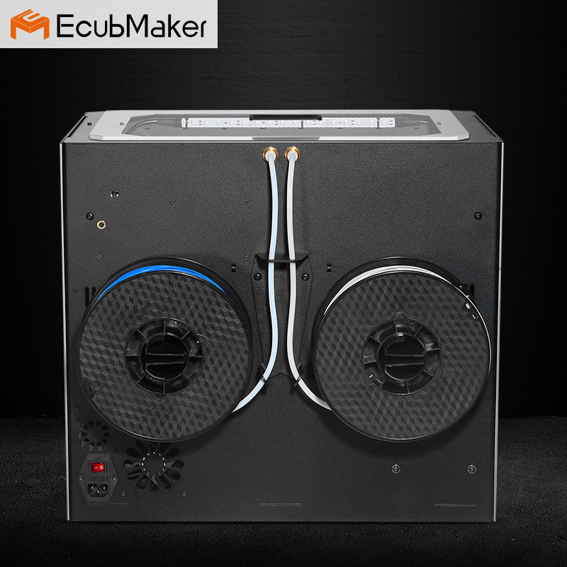 Ecubmaker Wholesale Lowest Desktop Home 3D Printing Machine Manufacturers, 300*200*200mm 3D Printer Sale