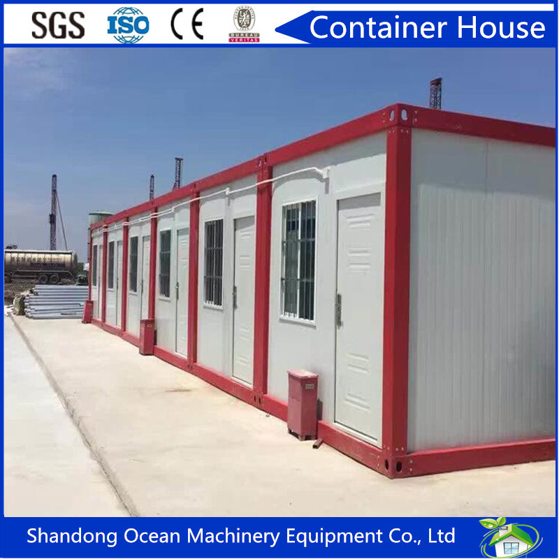 Australia Standard Environment Friendly Prefab Container House of Steel Structure with Cheap Price and Great Quality