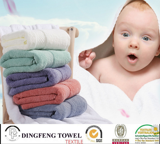 2016 Hot Sales 100% Cotton Organic Soft Salon Towel