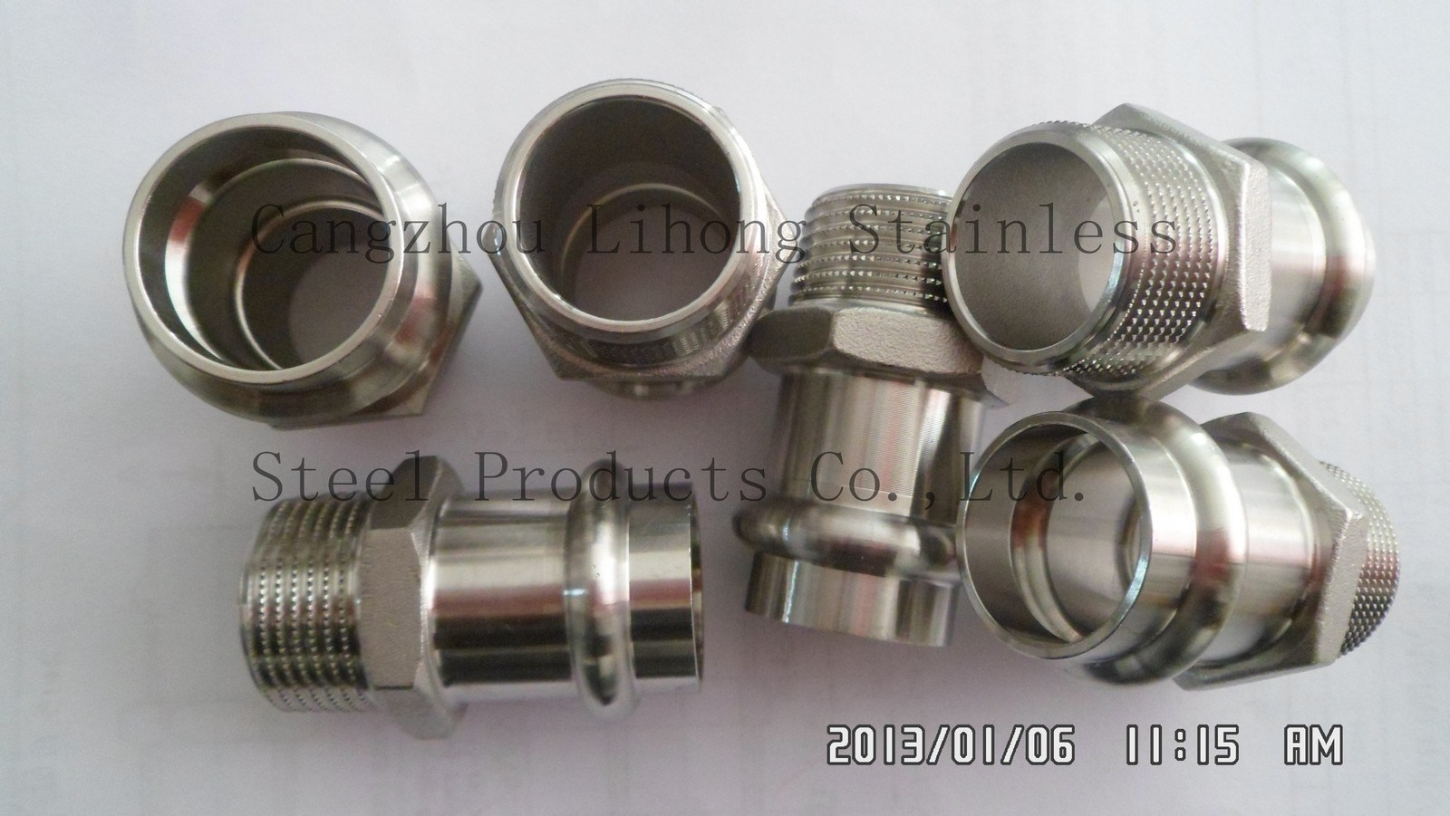 "2"" Stainless Steel 316 Knurling Pipe Fitting"