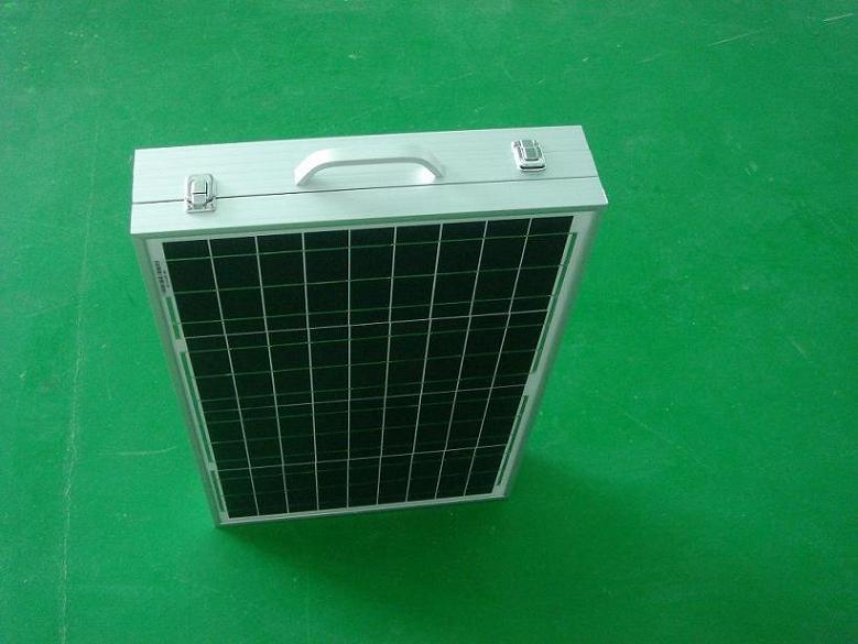 Folded Solar Panel 120W (40W in each side)