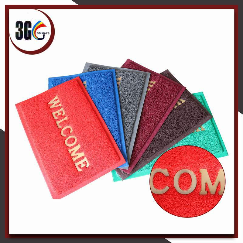 2017 Hot Selling 3G PVC Door Mat
