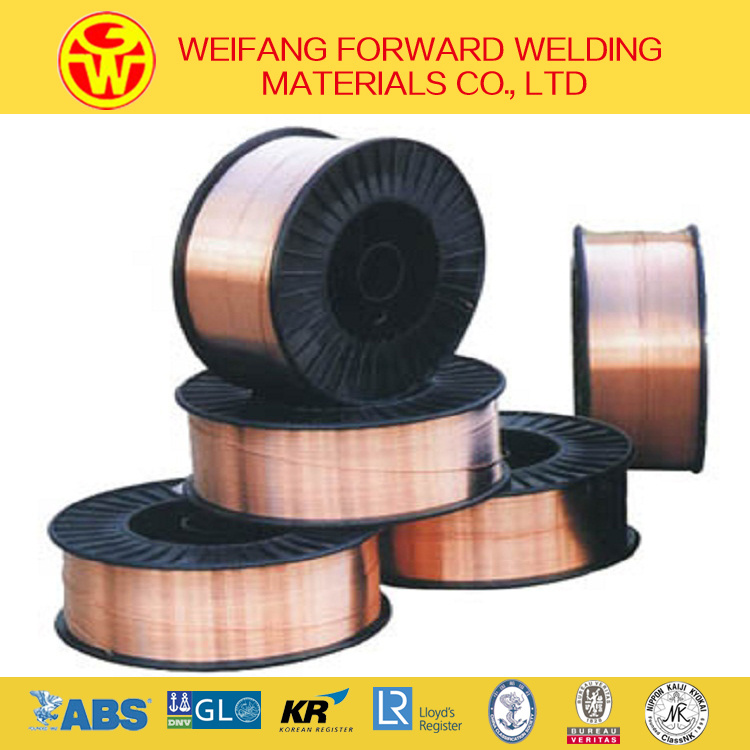 1.6mm 15kg/ABS Spool Er70s-6 CO2 Welding Wire MIG Welding Wire with ISO9001 Factory
