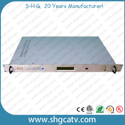 Indoor RS-232 Interface CATV Optical Receiver (OR-860A)