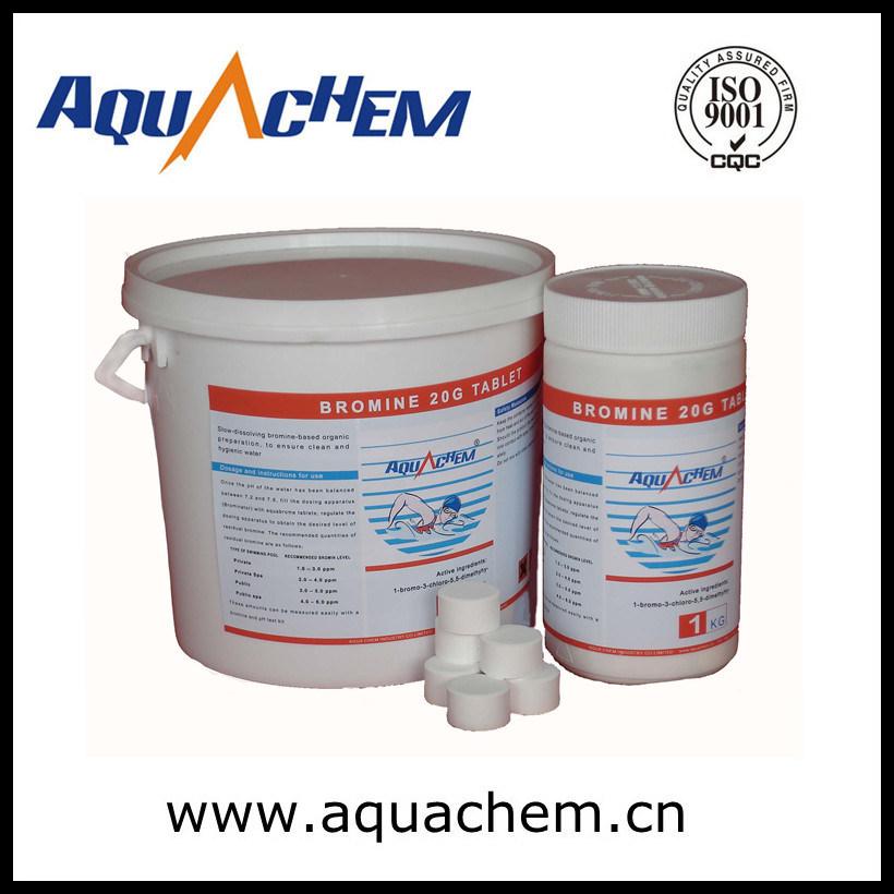 Bcdmh Bromine 1-Bromo-3-Chloro-5 5-Dimethylhydantoin, Bromo Bcdmh 20g Tablet