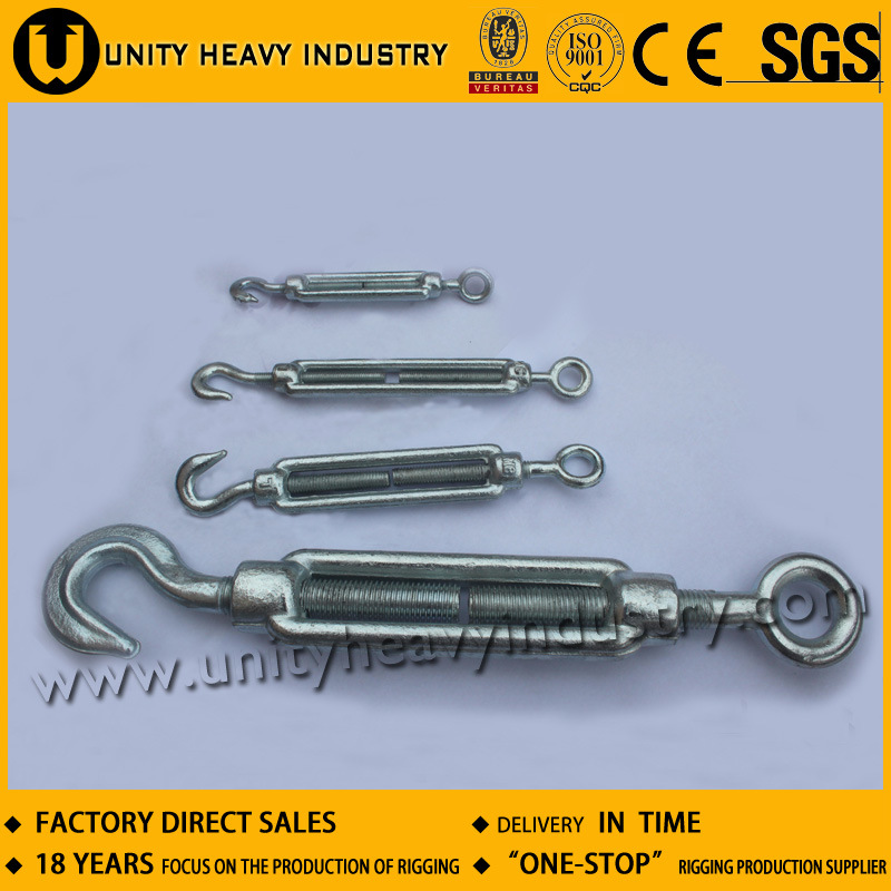 Hook and Eye DIN 1480 Turnbuckle