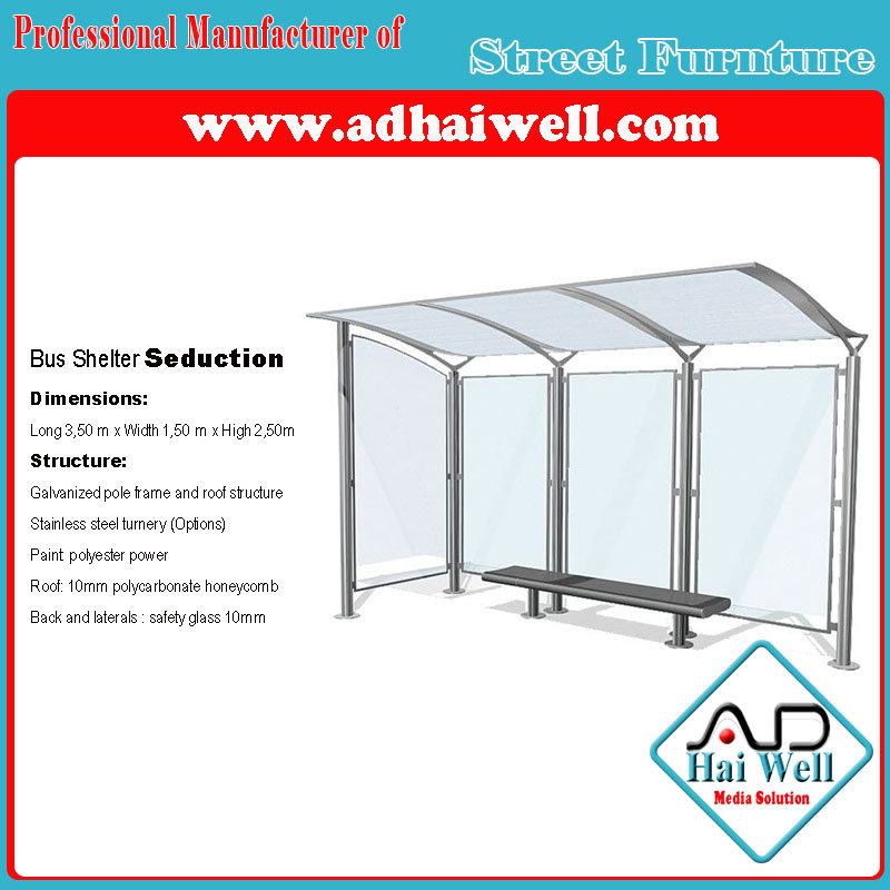 Bus Stop Lateral Scrolling Light Box