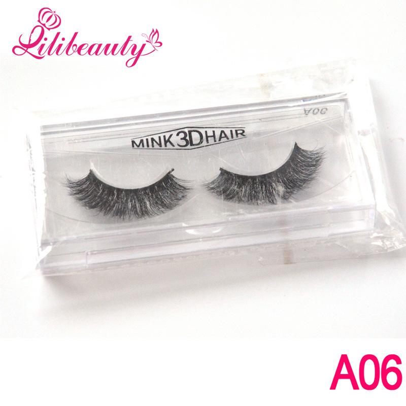 Luxurious Lashes 3D Multi-Layer Handmade Mink Hair False Eyelashes