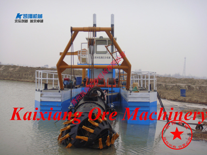 Kaixiang Cutter Suction Dredger with Large Capacity