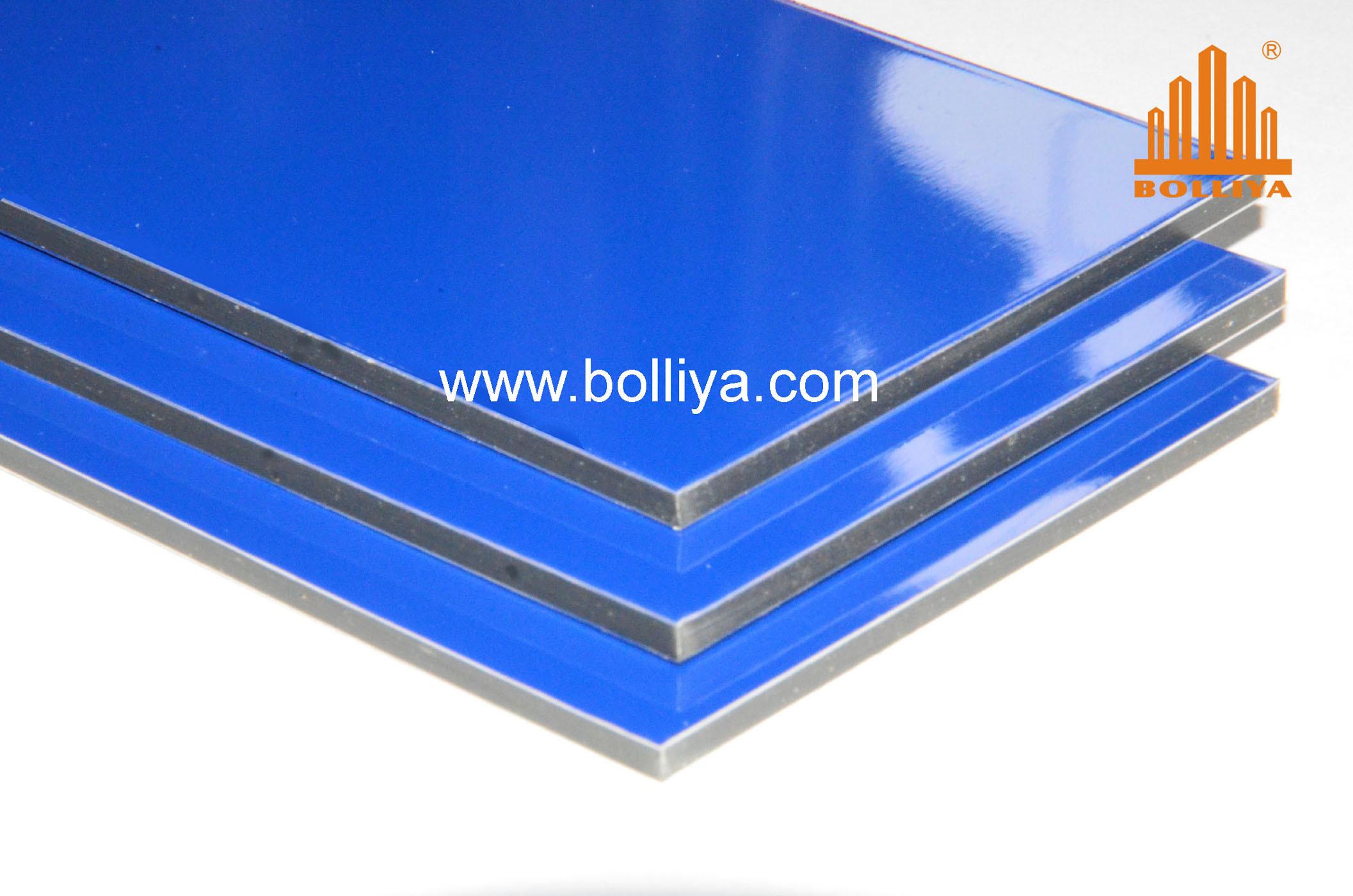 Aluminum Signage Materials for Advertisement / Suitable for Printing / 5002 Ultramarine Blue