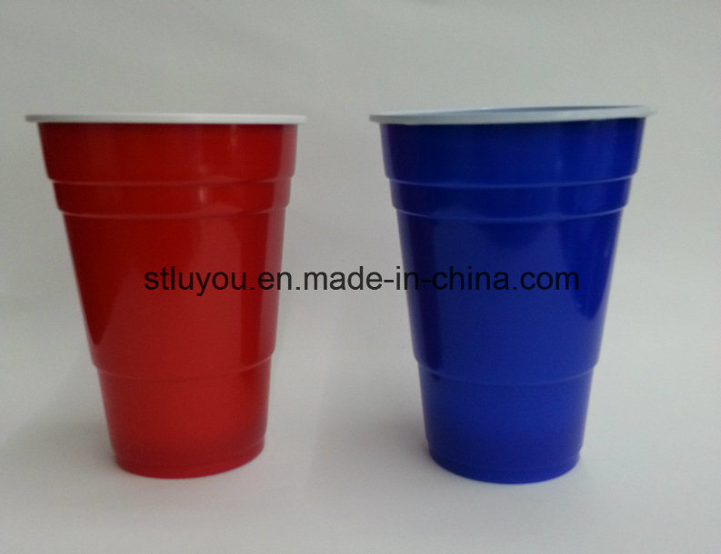 Disposable Plastic 355ml Double Color Solo Party Cup
