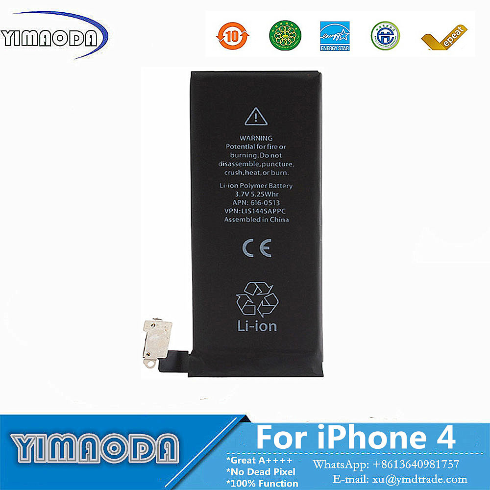 Zero Cycle Original Mobile Phone Battery for Apple iPhone 4